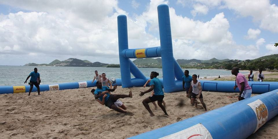 2017 St. Lucia Carnival Beach Rugby 5s a success