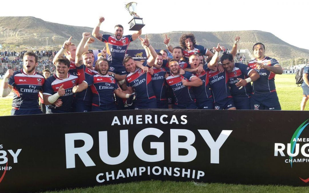 USA Eagles 2017 Americas Rugby Championship Winners