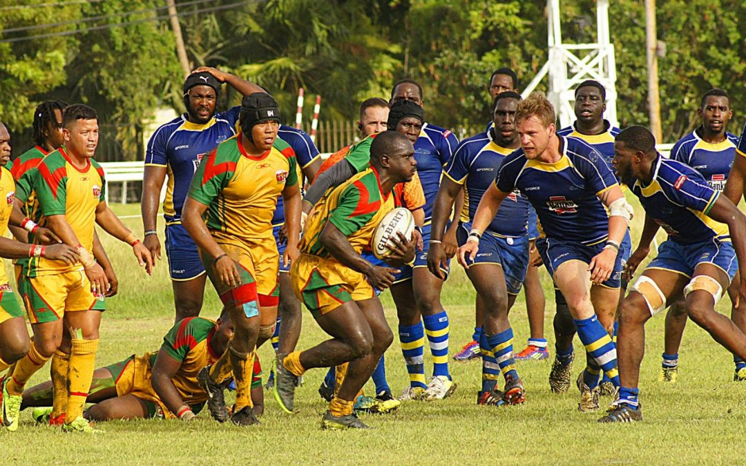 Barbados go down fighting in rugby XVs