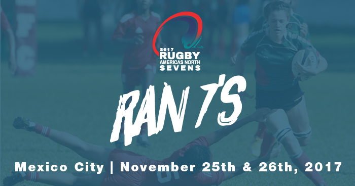 Schedule Released for 2017 Rugby Americas North Sevens