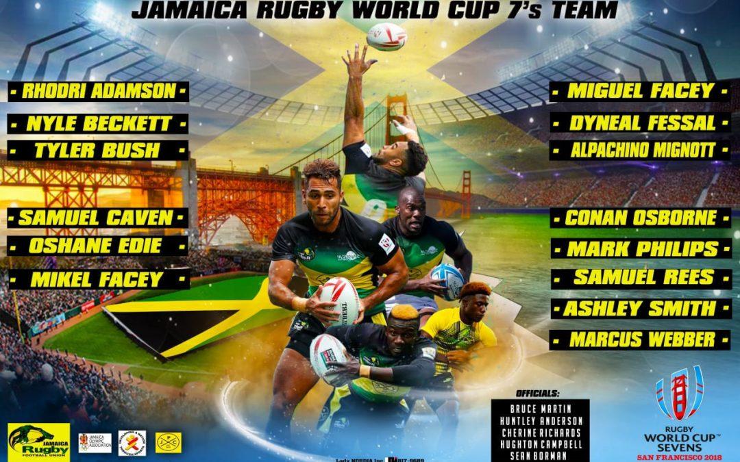 Jamaica Rugby Announce RWC Sevens Squad