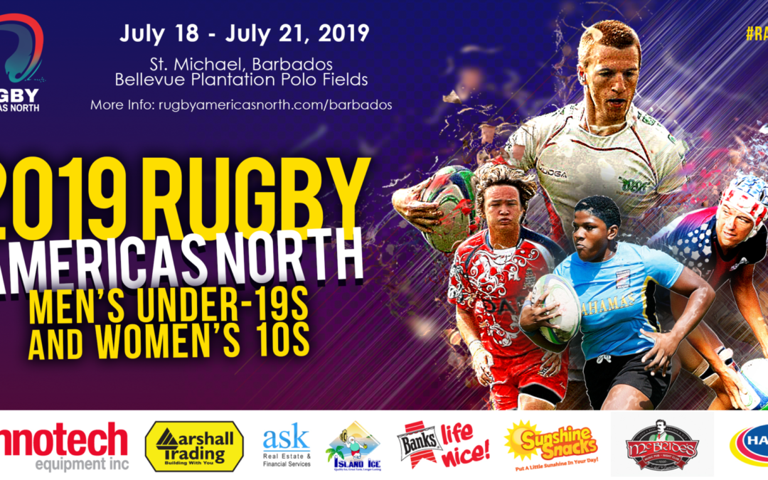2019 Rugby Americas North Men's U19 & Women's 10s set to kick off
