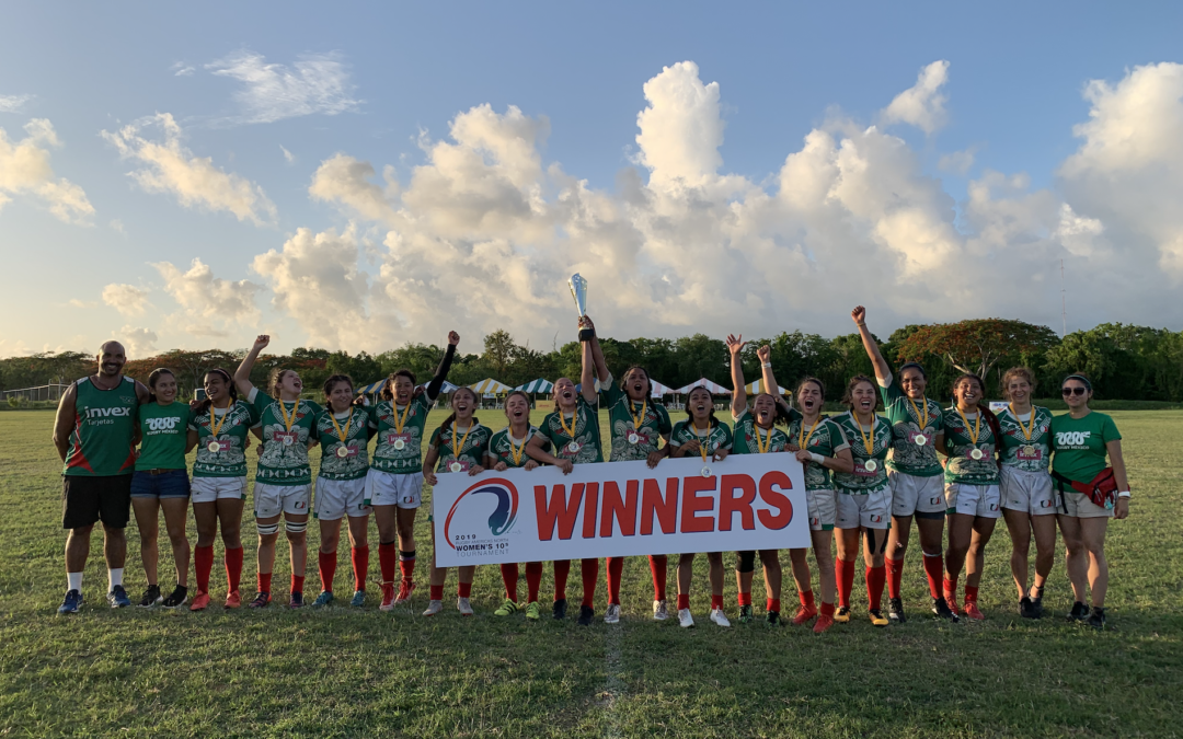 Mexico crowned 2019 Rugby Americas North Women's 10s Champions