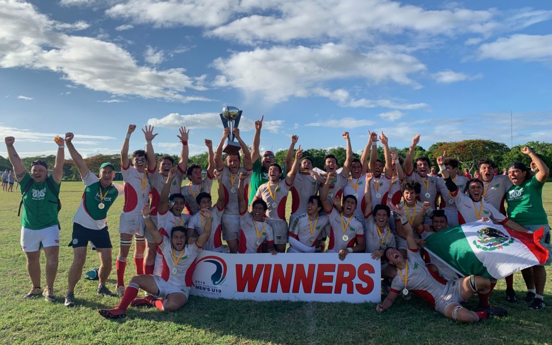 Mexico crowned 2019 Rugby Americas North Men's U-19 Champions