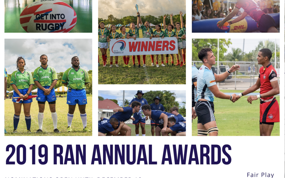 RUGBY AMERICAS NORTH CALL FOR ANNUAL AWARD NOMINATIONS