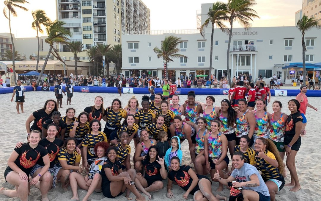 SECOND ANNUAL RAN BEACH 5S TOURNAMENT A HIT ON HOLLYWOOD BEACH