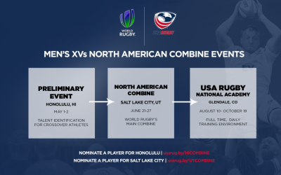WORLD RUGBY ANNOUNCES MEN'S XVs NORTH AMERICAN COMBINE EVENTS IN THE UNITED STATES THIS SUMMER