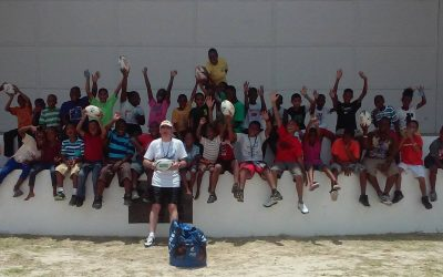 No challenge has been able to stop Tony Gillings, founder of rugby in Belize