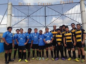Rugby for Rehabilitation program at the Belize Central Prison