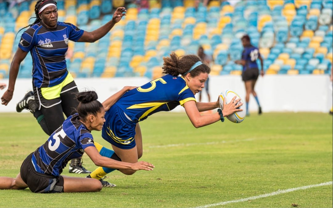 BARBADOS' JARA EMTAGE-CAVE IS FLYING HIGH TO HARVARD