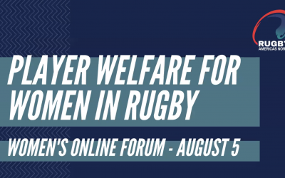 Highlights from the first Women's Online Forum – Player Welfare for Women in Rugby