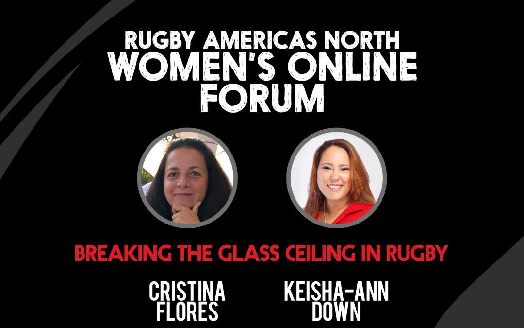 Breaking the Glass Ceiling in Rugby – Women's Online Forum #2