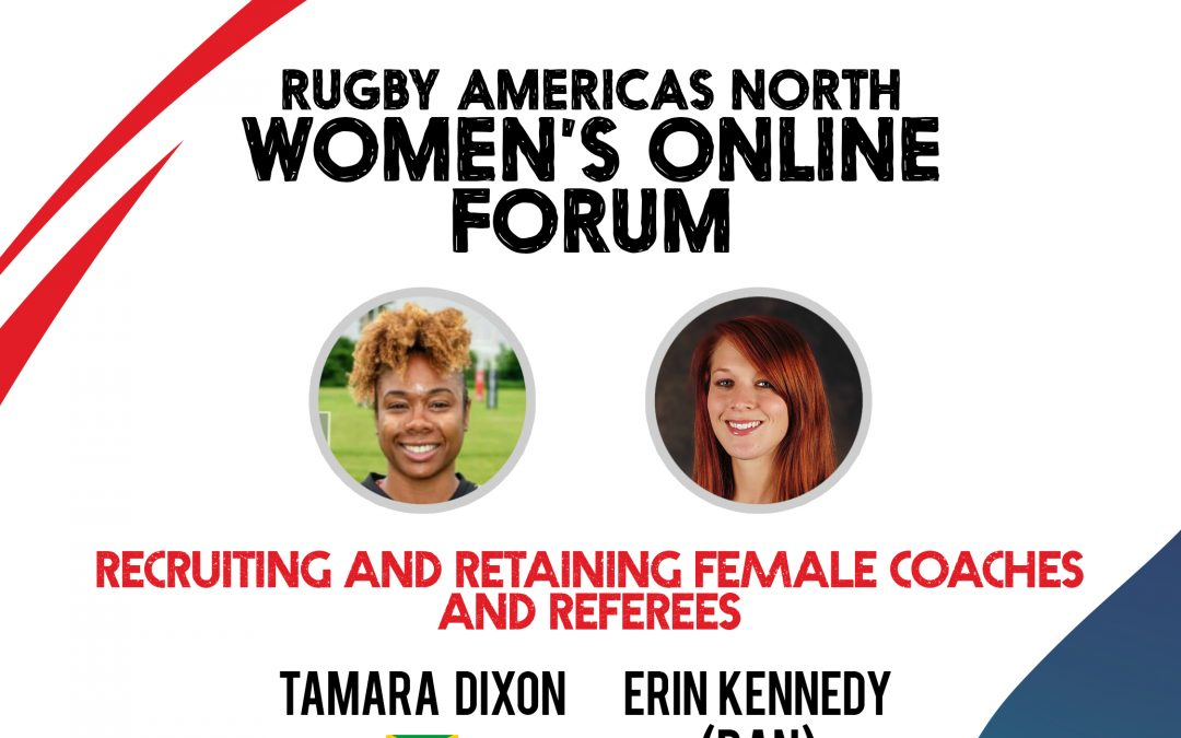 RECRUITING AND RETAINING FEMALE COACHES AND REFEREES – WOMEN'S ONLINE FORUM #4