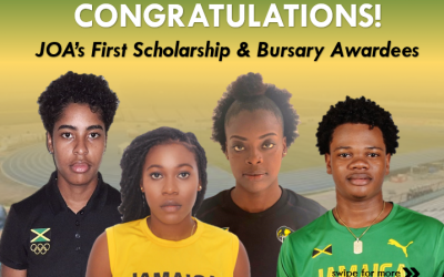 Four athletes chosen to receive Jamaica Olympic Association scholarships