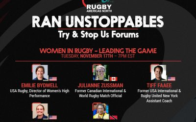 Try & Stop Us Forum: Women in Rugby – Leading the Game