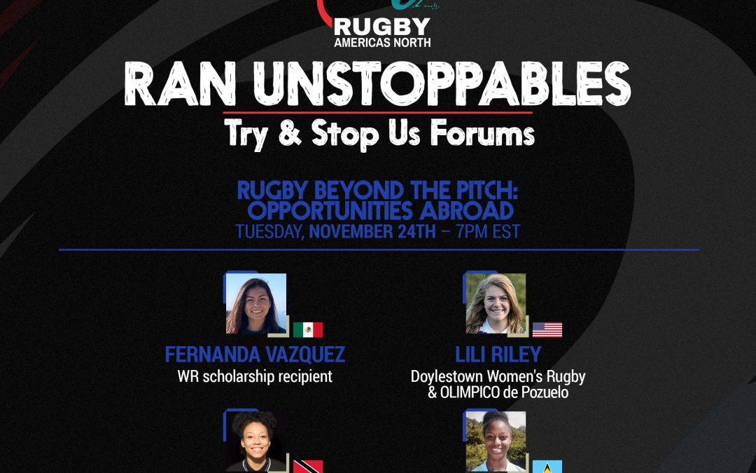 Try & Stop Us Forum – Rugby beyond the pitch: Opportunities Abroad