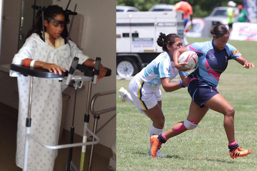 From car crash to Team Captain: The incredible comeback story of Bermuda's Deneka Borden