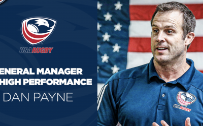 USA EAGLE ALUM DAN PAYNE APPOINTED USA RUGBY GENERAL MANAGER OF HIGH PERFORMANCE