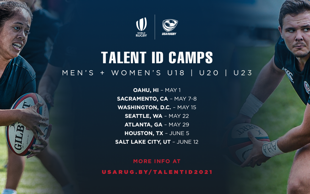 USA Rugby High Performance Pathways to host men's and women's Talent Identification Camps with World Rugby