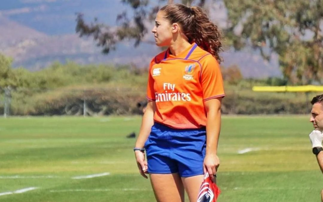 Scientific approach helping Amelia Luciano rise through match official ranks