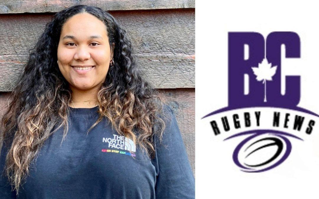 Amanda Whipple lands  journalism internship with BC Rugby News
